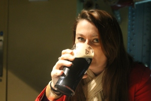 Time to drink the smooth stout Guinness