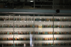 Thousands of different Guinness bottles