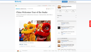 China Welcomes Year of the Snake- Storify