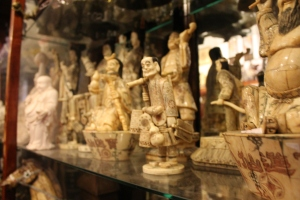 Handcrafted figurines imported from China