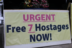 Iranian Hunger Strike Outside US Embassy Calls for Action
