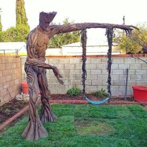 Guardians Of The Galaxy: James Gunn Shares Photo Of Amazing Groot Swingset